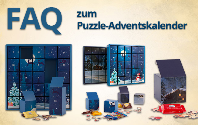 Puzzle-Adventskalender FAQ