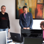 Firmenbesuch MdB Albert Rupprecht - A/B-Tests im Online-Marketing